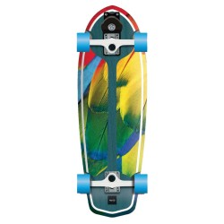 FLYING WHEELS Surf Skateboard 29 Parrot Lombard Surfskate