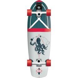 FLYING WHEELS Surf Skateboard 31,5 Luska Lombard Surfskate